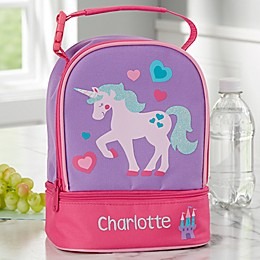 Unicorn Embroidered Lunch Bag by Stephen Joseph