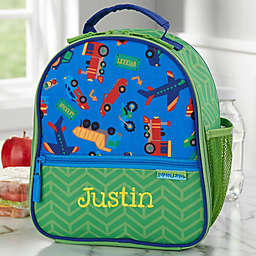 Transportation Print Personalized Lunch Bag by Stephen Joseph