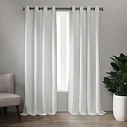 Landon 84-Inch Grommet Window Curtain Panel in White (Single)