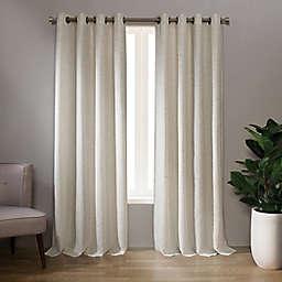 Landon 84-Inch Grommet Window Curtain Panel in Linen (Single)