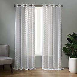 Landon Grommet Sheer Window Curtain Panel (Single)