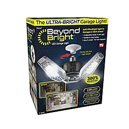 Beyond Bright™ 40-Watt Equivalent Utility Light in Black/Silver