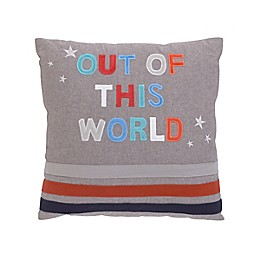 NoJo® Out of This World Square Throw Pillow in Navy
