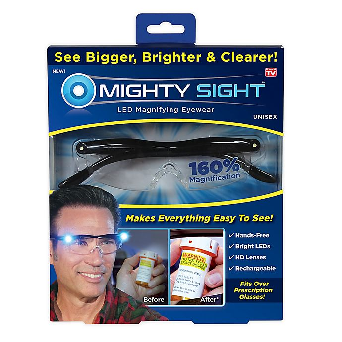 Alternate image 1 for Mighty Sight™ LED Magnifying Eyewear