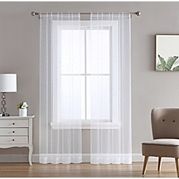 Allure 2-Pack Rod Pocket Light Filtering Window Curtain Panels