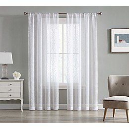Cleo 2-Pack 84-Inch Rod Pocket Light Filtering Window Curtain Panels