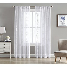 Pompeii 2-Pack Rod Pocket Sheer Window Curtain Panels
