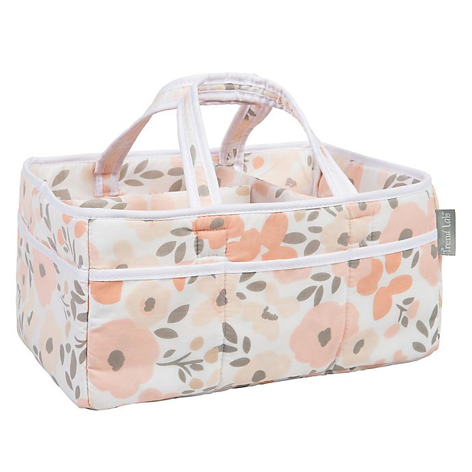 Alternate image 1 for Trend Lab® Blush Floral Storage Caddy