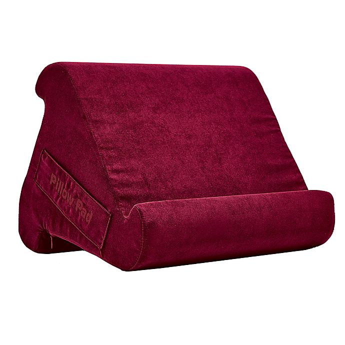 Alternate image 1 for Pillow Pad Multi-Angle Lap Desk in Red