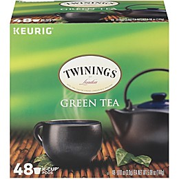 Twinings of London® Green Tea Pods for Single Serve Coffee Makers 48-Count