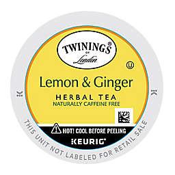 Twinings of London® Lemon & Ginger Herbal Tea Keurig® K-Cup® Pods 18-Count