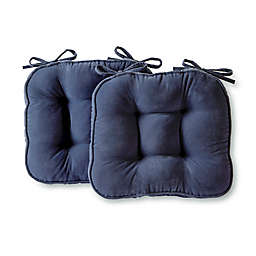 Greendale Home Fashions Hyatt Microfiber Chair Pads (Set of 2)