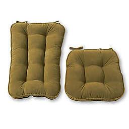 Greendale Home Fashions Hyatt 2-Piece Jumbo Rocking Chair Cushion Set