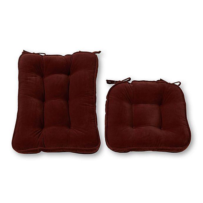 Alternate image 1 for Greendale Home Fashions Hyatt 2-Piece Rocking Chair Cushion