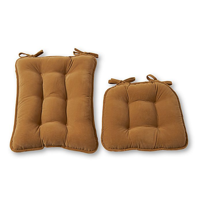Alternate image 1 for Greendale Home Fashions Cherokee 2-Piece Rocking Chair Cushion Set
