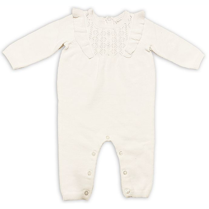 Alternate image 1 for Clasix Beginnings™ by Miniclasix® Sweater Coverall in Ivory