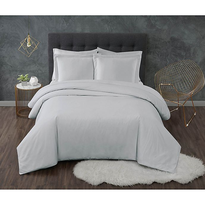 Alternate image 1 for Truly Calm® Antimicrobial Duvet Set