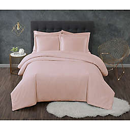 Truly Calm® Antimicrobial 3-Piece Full/Queen Duvet Set in Blush