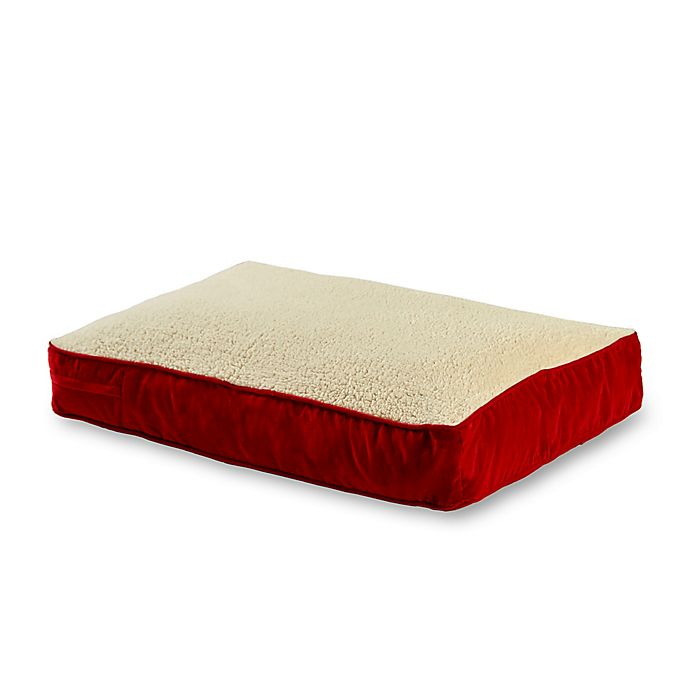 Alternate image 1 for Happy Hounds™ Buster Sherpa Rectangular Dog Bed