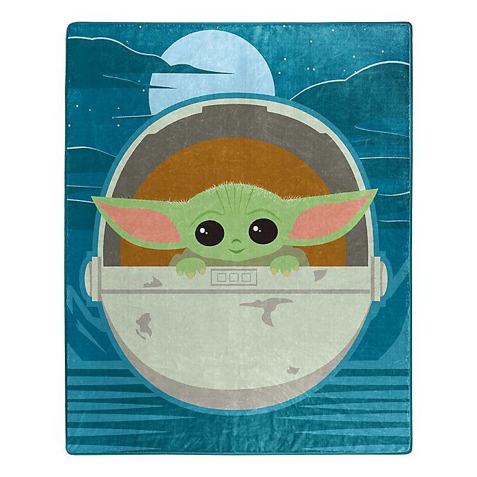 Alternate image 1 for Star Wars™ The Child (AKA Baby Yoda) Star Boy Raschel Throw