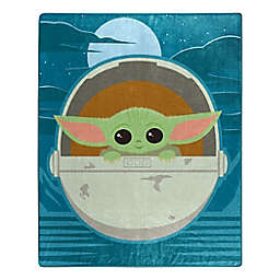 Star Wars™ The Child (AKA Baby Yoda) Star Boy Raschel Throw