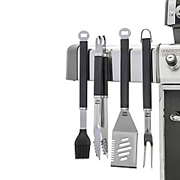 Yukon Glory® 4-Piece Magnetic Grill Tool Set in Steel