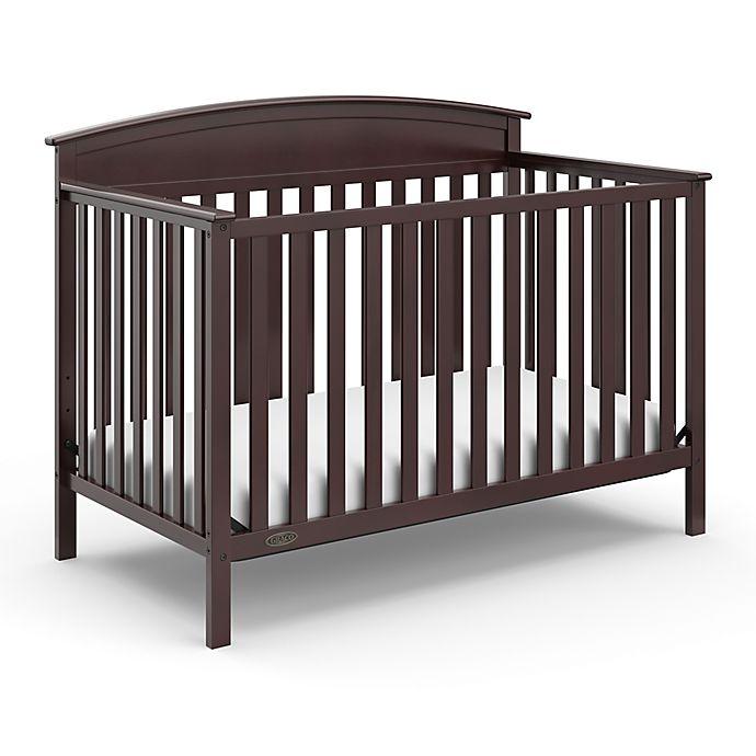 Alternate image 1 for Graco® Benton 4-in-1 Convertible Crib in Espresso