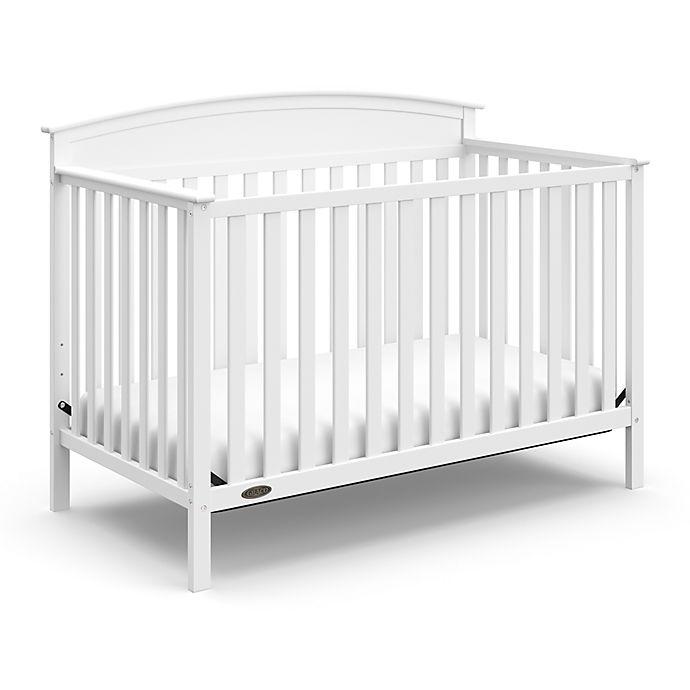 Alternate image 1 for Graco® Benton 4-in-1 Convertible Crib in White
