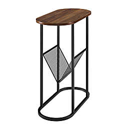 Forest Gate™ 11-Inch Oblong Side Table with Magazine Rack