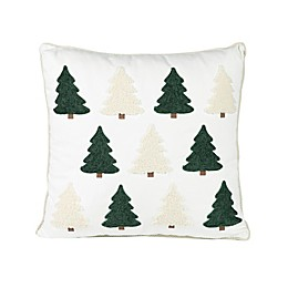 Bee & Willow™ Home Tree Square Throw Pillow in Cream