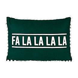 Bee & Willow™ Home Fa La La Pom Oblong Throw Pillow in Green