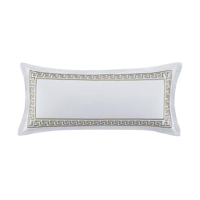 Alternate image 1 for Wamsutta® Sheffield Bolster Throw Pillow