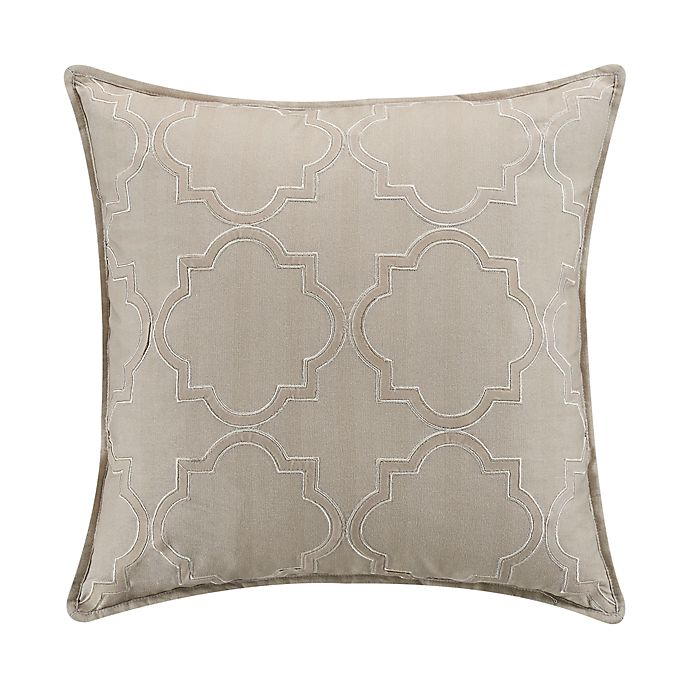 Alternate image 1 for Wamsutta® Essex Square Throw Pillow in Peyote