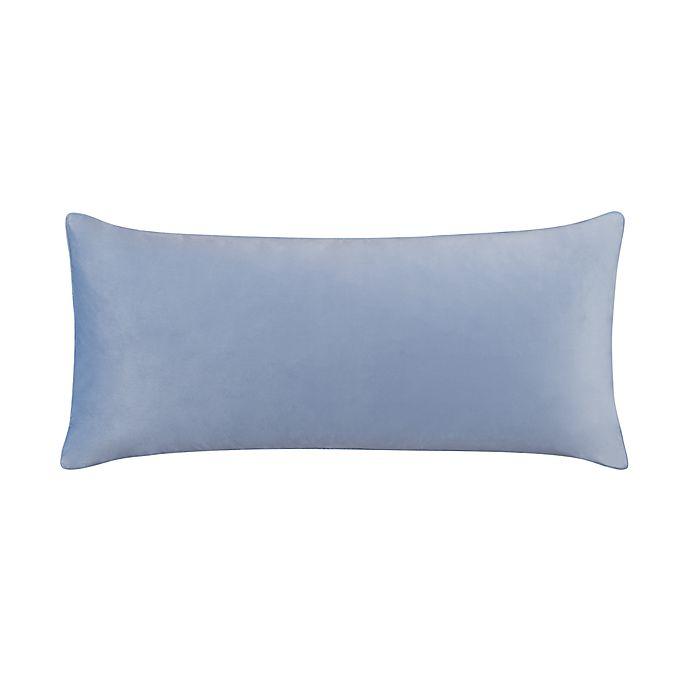 Alternate image 1 for Wamsutta® Portland Oblong Bolster Throw Pillow in Celestial Blue