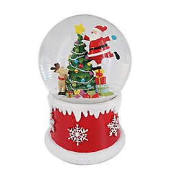Santa's Journey Snow Globe