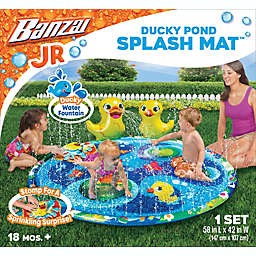 Banzai® Ducky Pond Splash Mat in Blue/Yellow