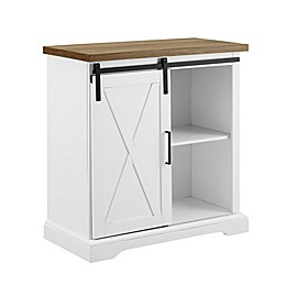 Forest Gate™ Rustic Farmhouse Buffet in White/Brown