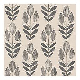 WallPops!® NuWallpaper™ Print Tulip Peel & Stick Wallpaper in Black