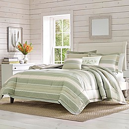 Tommy Bahama® Serenity 5-Piece Reversible Comforter Set in Aqua