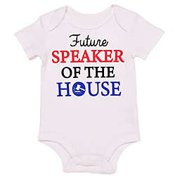 "Baby Starters® Size 3M BWA® ""Future Speaker of the House"" Bodysuit in White"