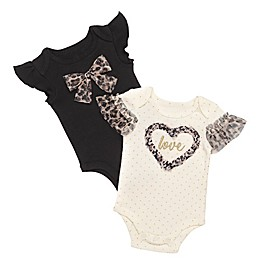 Baby Starters® 2-Pack Short Sleeve Bodysuits