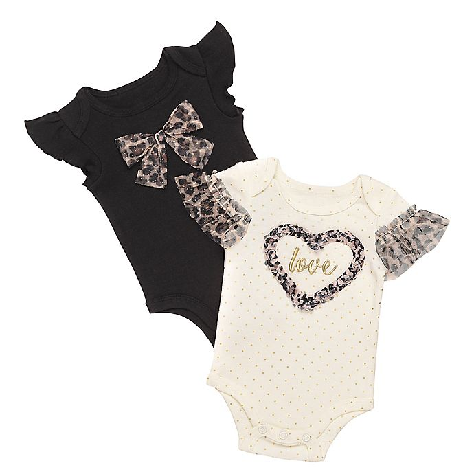 Alternate image 1 for Baby Starters® 2-Pack Short Sleeve Bodysuits