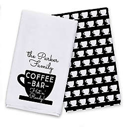 Coffee Bar Tea Towel Set
