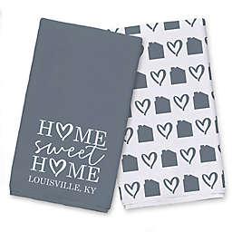 Home Sweet Home City Tea Towel Set