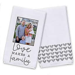 Love Makes a Family Tea Towel Set
