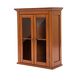 Double Door Wall Cabinet in Russet