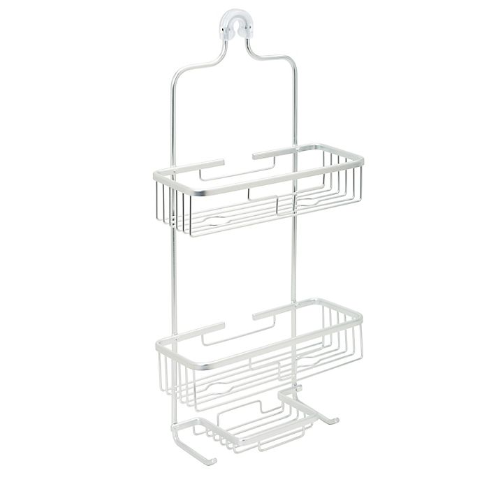 Alternate image 1 for ORG NeverRust Premium Aluminum Shower Caddy in Satin Chrome