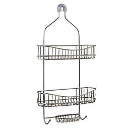 ORG NeverRust™ Extra Wide Stainless Steel Shower Caddy