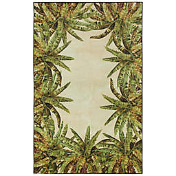Mohawk® Home Verde Palm Border 8' x 10' Area Rug in Green