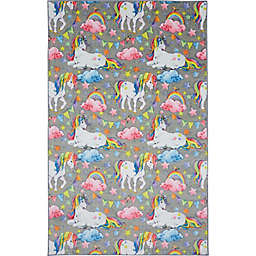 Mohawk Home® Prismatic Unicorn Wish Rug